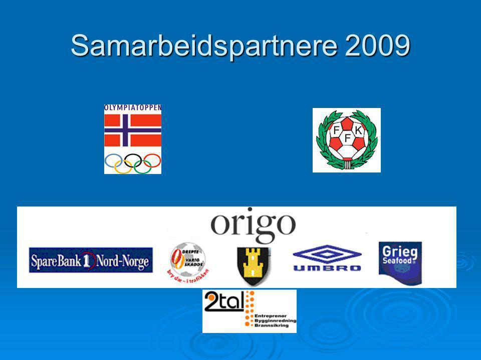 Samarbeidspartnere 2009