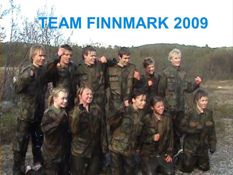 Samlingsplan Team Finnmark 2009 3.-4.juniLakselv2 10.-11.AugustHammerfest2 18.-21.novemberKirkenes4 14.-17.januar Alta4 6.-14.februarLa Manga 9 I tillegg kommer sone- og kretssamlinger