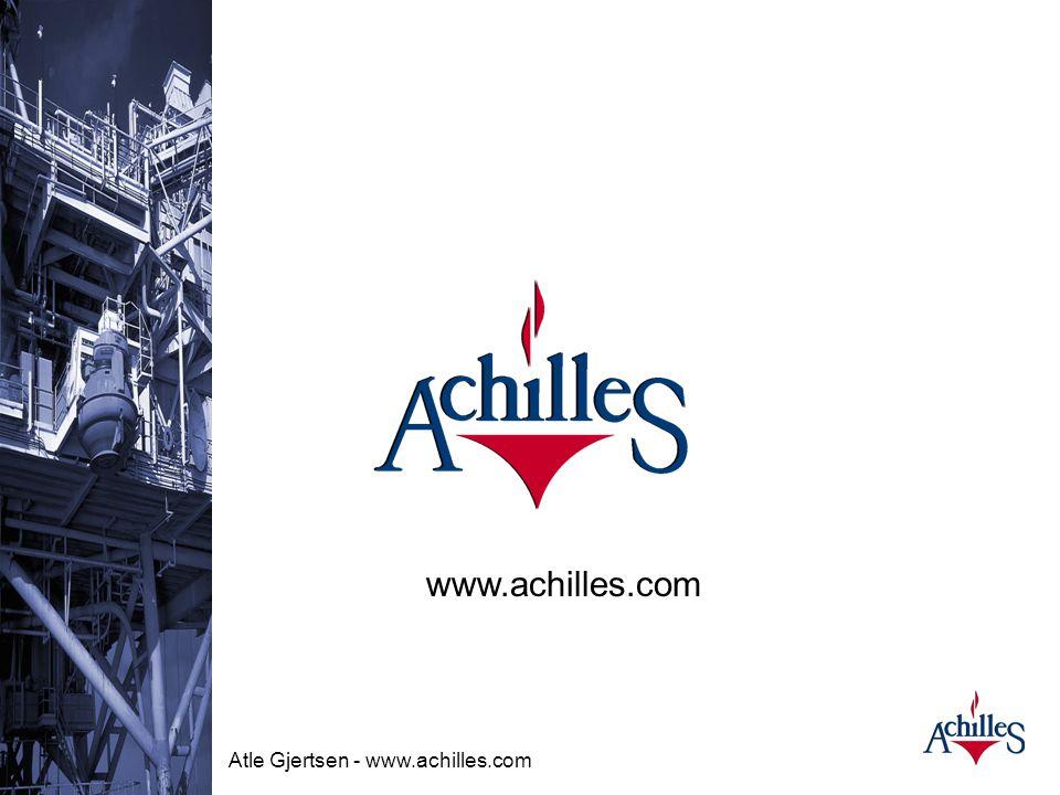 Atle Gjertsen - www.achilles.com Hvordan bli pre- kvalifisert? •WWW.achilles.com –velg oil&gas og Norge •Snakk med meg etterpå Atle Gjertsen mobil:971
