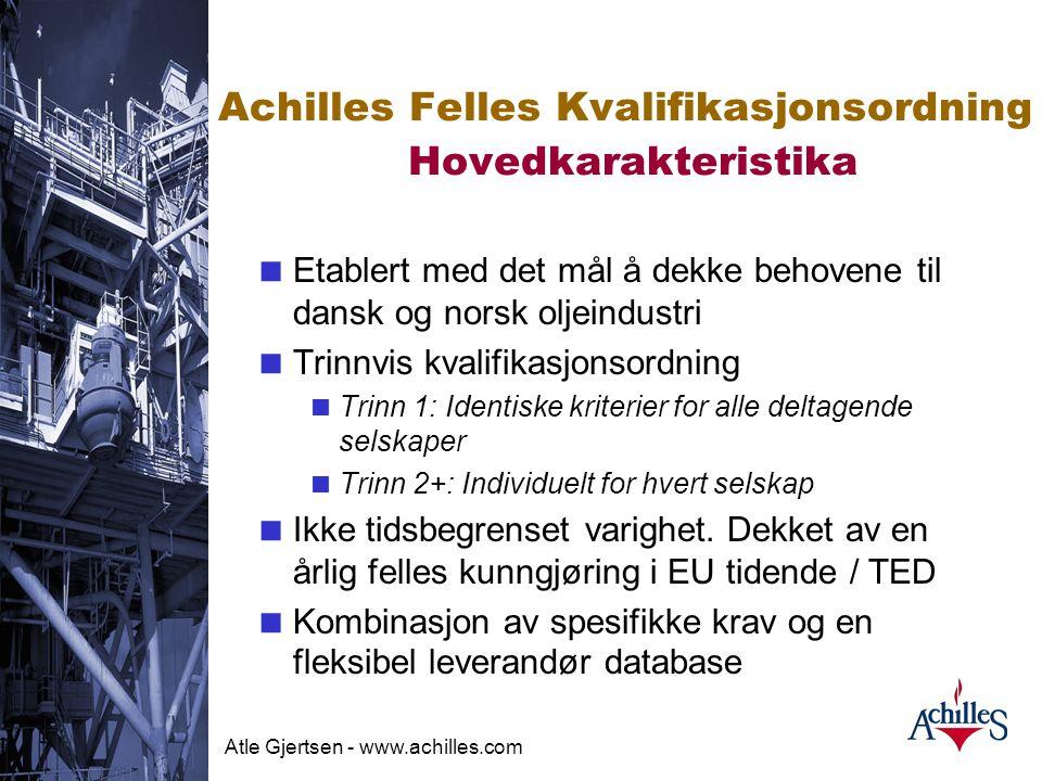 Atle Gjertsen - www.achilles.com EU's innkjøpsdirektiv Virkemidler for å realisere hovedprinsippene  Kunngjøring av anbud etc. i EU/EØS-området  Eva