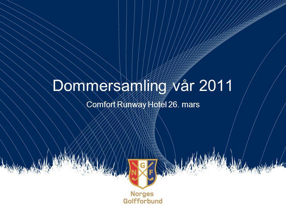 Agenda Kl.10.00 – 11.30Praktisk info, turneringer 2011, R&A Kl.