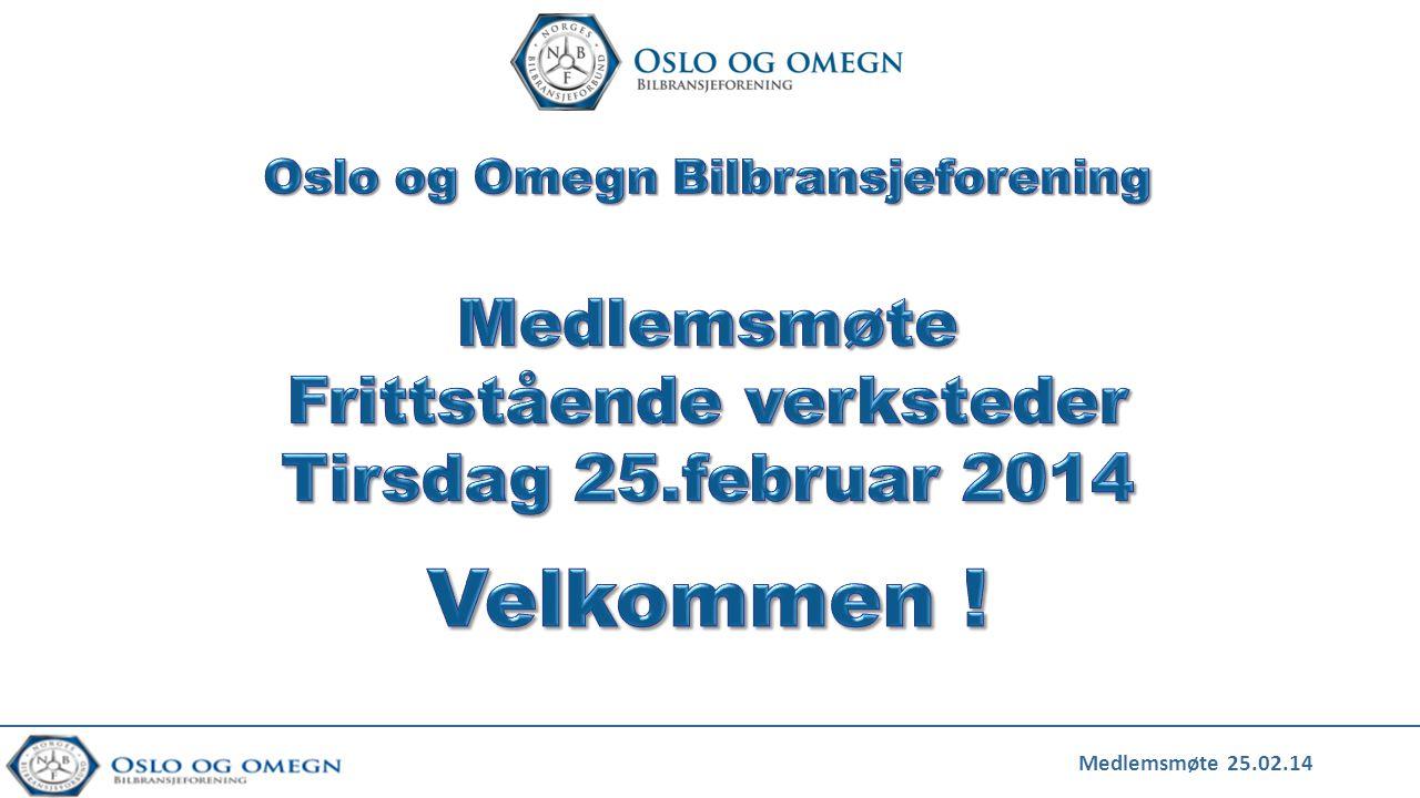 Medlemsmøte 25.02.14
