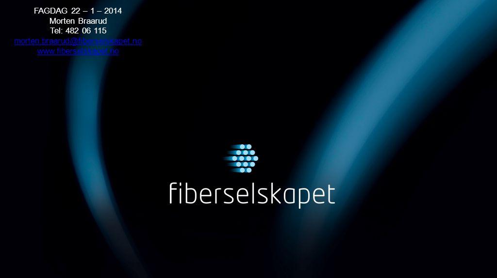 FAGDAG 22 – 1 – 2014 Morten Braarud Tel: 482 06 115 morten.braarud@fiberselskapet.no www.fiberselskapet.no morten.braarud@fiberselskapet.no www.fibers