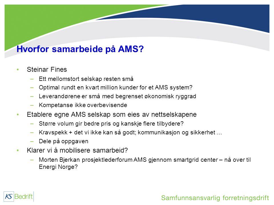Hvorfor samarbeide på AMS.