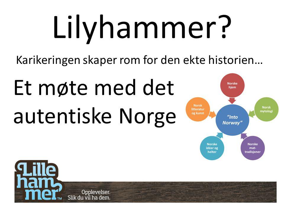 Lilyhammer? Karikeringen skaper rom for den ekte historien… Et møte med det autentiske Norge