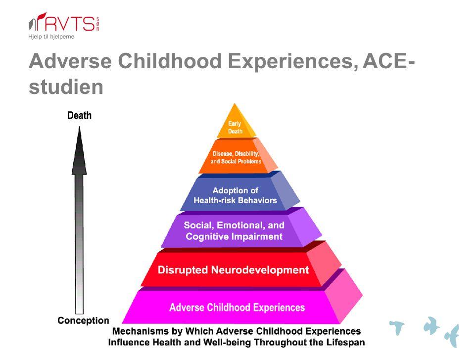 Adverse Childhood Experiences, ACE- studien