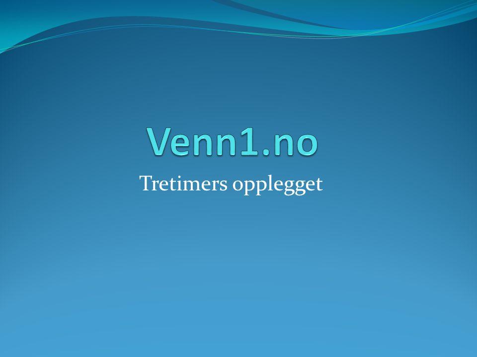 Hovedformålet med Venn1.no  Normalisere psykisk helse  Hva er psykiske problemer.