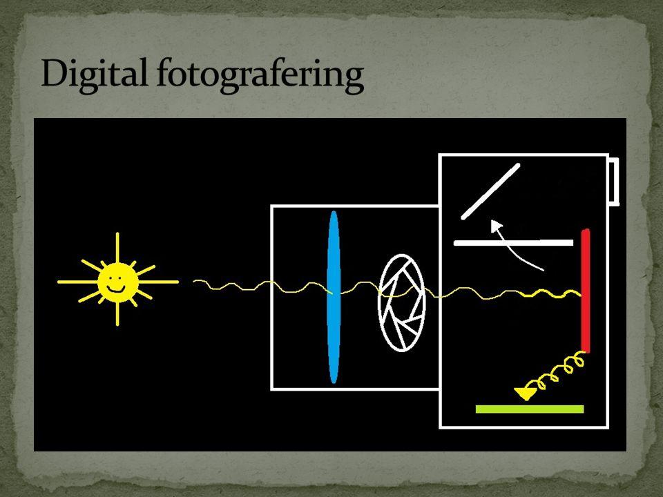 Huskeregel:  ¼ av åpningen i enden av en vannslange (f/4) er et større hull enn 1/14 (f/14) – blenderåpning.
