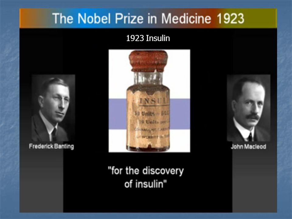 1923 Insulin
