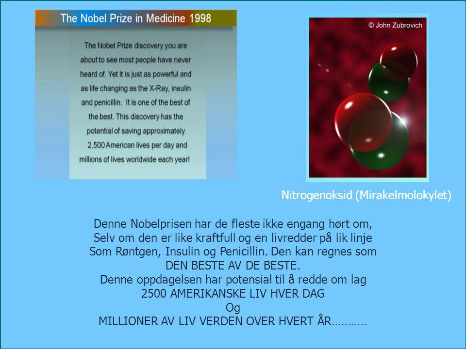 Nitrogenoksid (NO) får blodårene til å slappe av, utvide seg innvendig og gjør dem rene for plakk, uten bruk av medisiner (Dr.