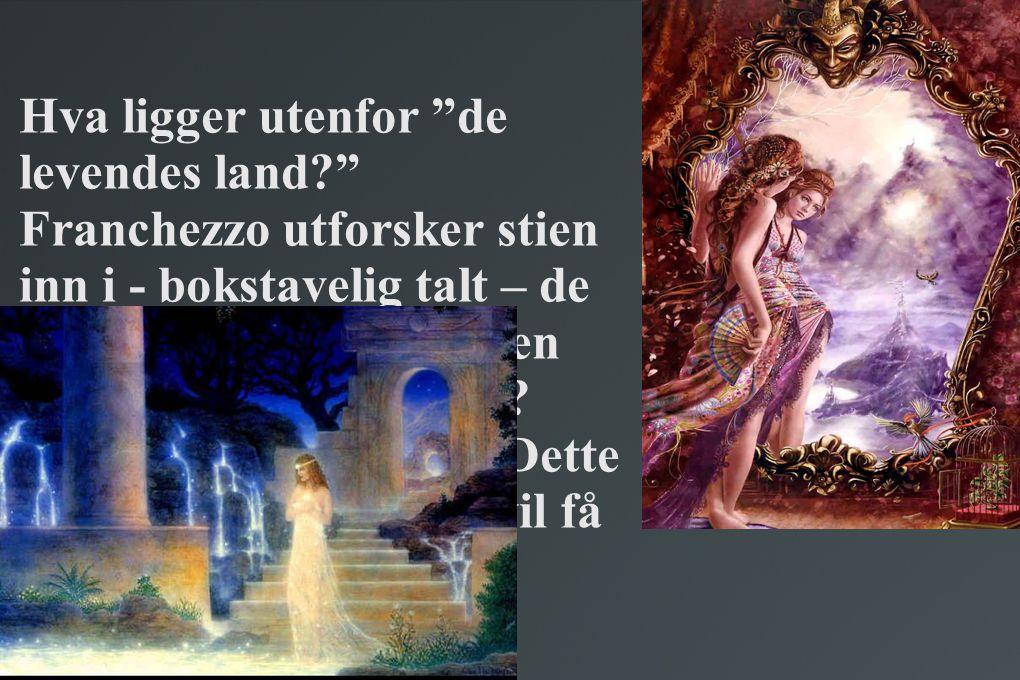 • jeg kalte ikke mer på henne, for jeg viste at de døde kaller forgjeves, og at de levende ikke hører dem.