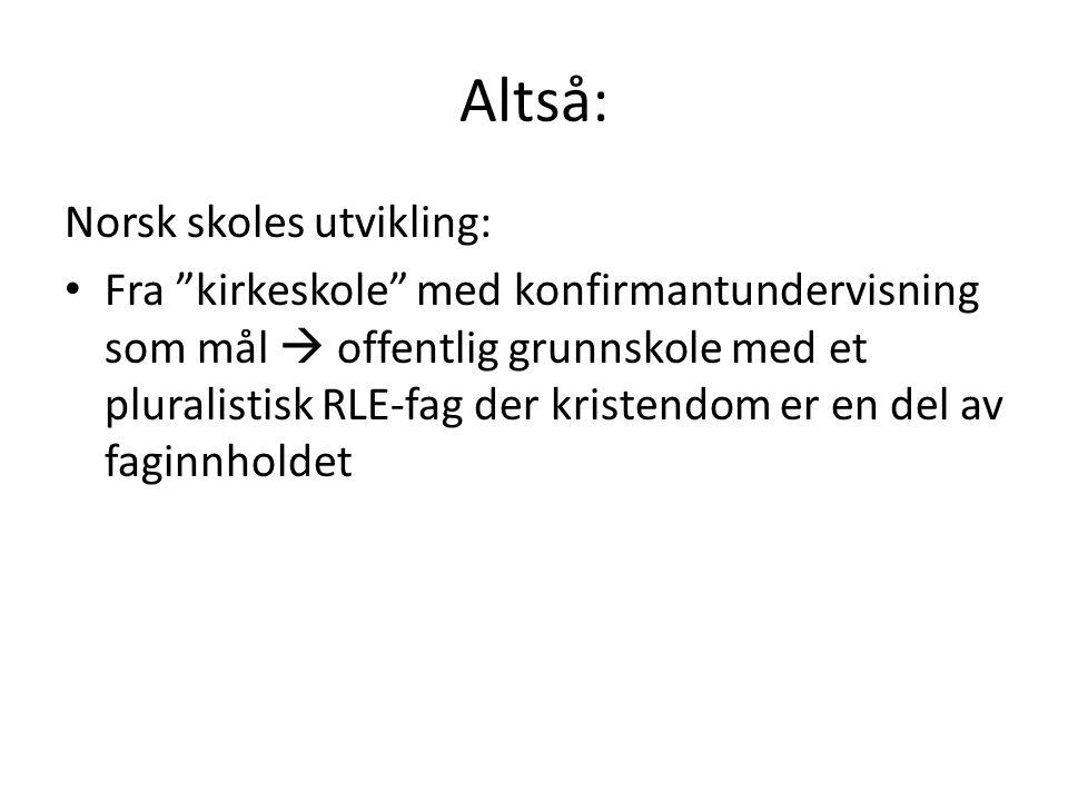 A.RLE-faget • Kompetansemål etter 4.