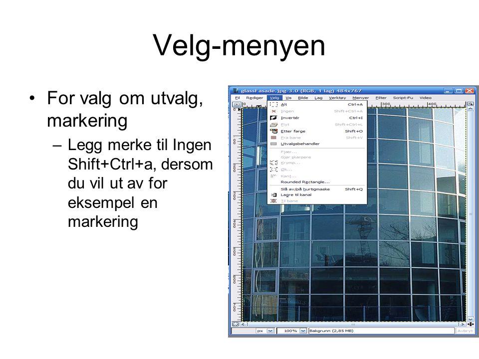 Oppgave d fortsettelse •Åpne bildet av modellen som et nytt lag •Fjern bakgrunnen slik at den blir gjennomsiktig •Lag et nytt lag som er en kopi av glassfasaden og plasser dette øverst, juster med gjennomsiktlighet •http://prosjekt.hihm.no/lar endenett/images/modell9.
