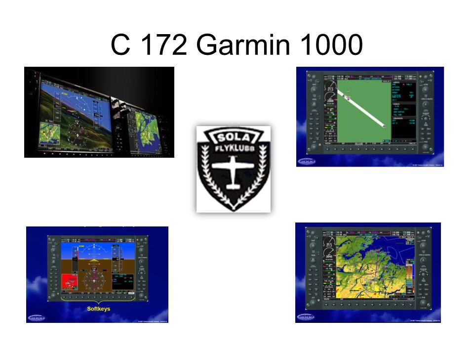 C 172 Garmin 1000