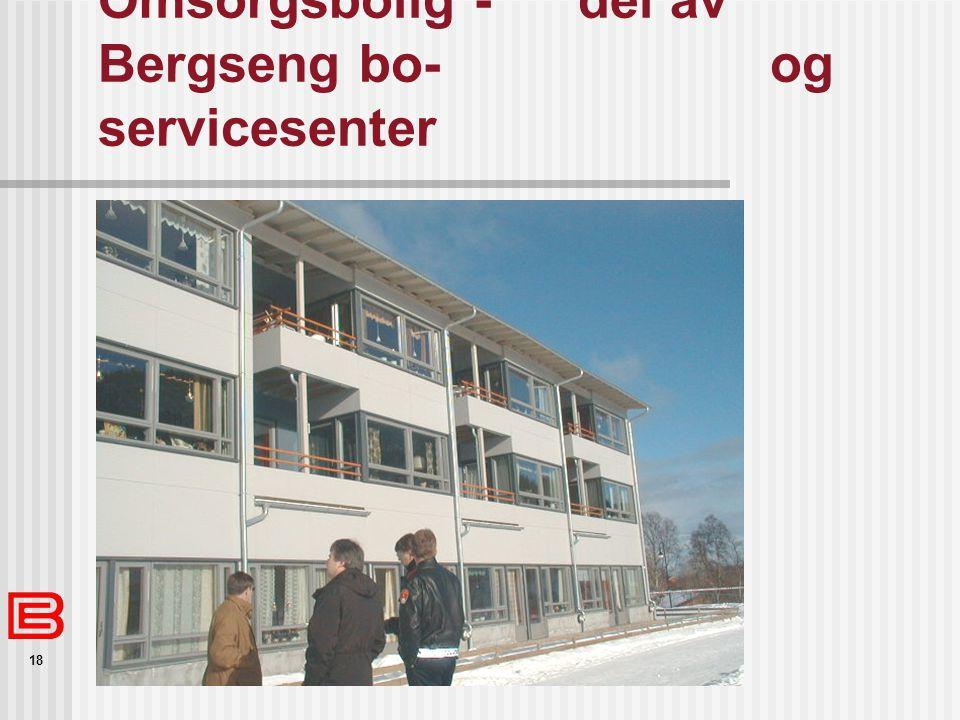 18 Omsorgsbolig -del av Bergseng bo- og servicesenter