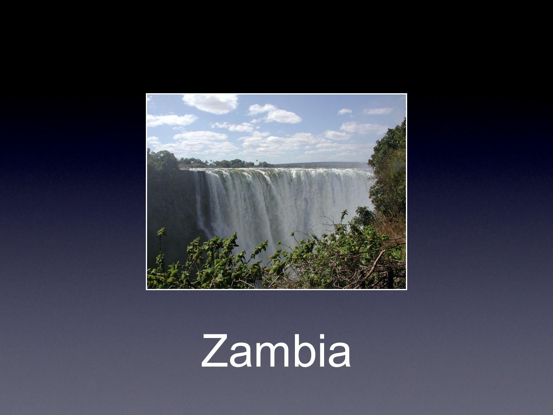 Litt fakta • Hovedstad: Lusaka • Styreform: Republikk • President: Rupiah Banda • Befolkning: 12 millioner • Språk: engelsk (offisielt) og over 70 lokale språk.