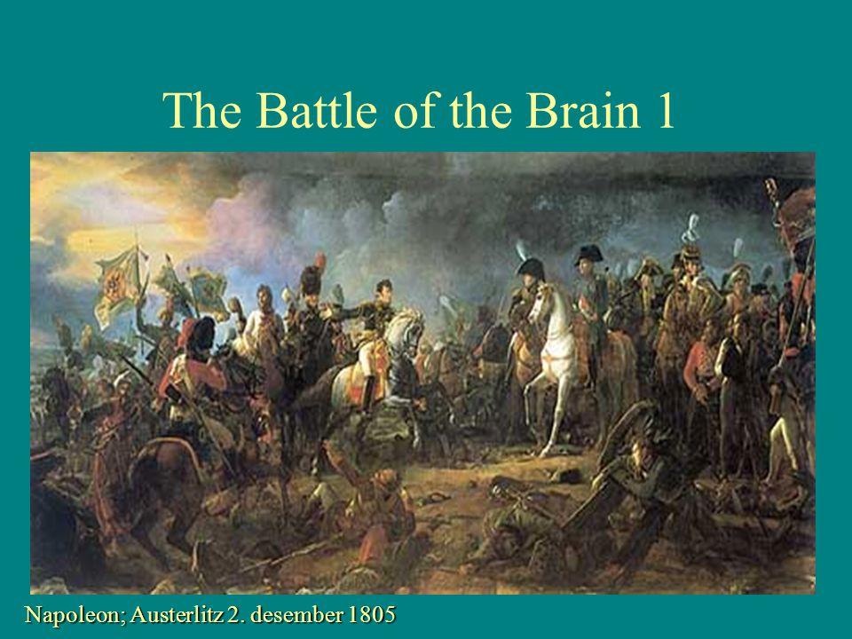 The Battle of the Brain 2 •Hjerneslag rammer alltid brått og uventet •Prognosen avgjøres der og da •Det finnes ingen angrefrist