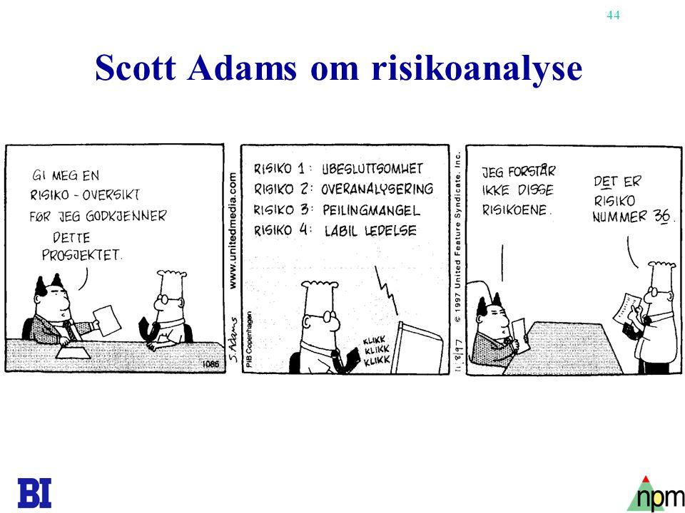 44 Scott Adams om risikoanalyse