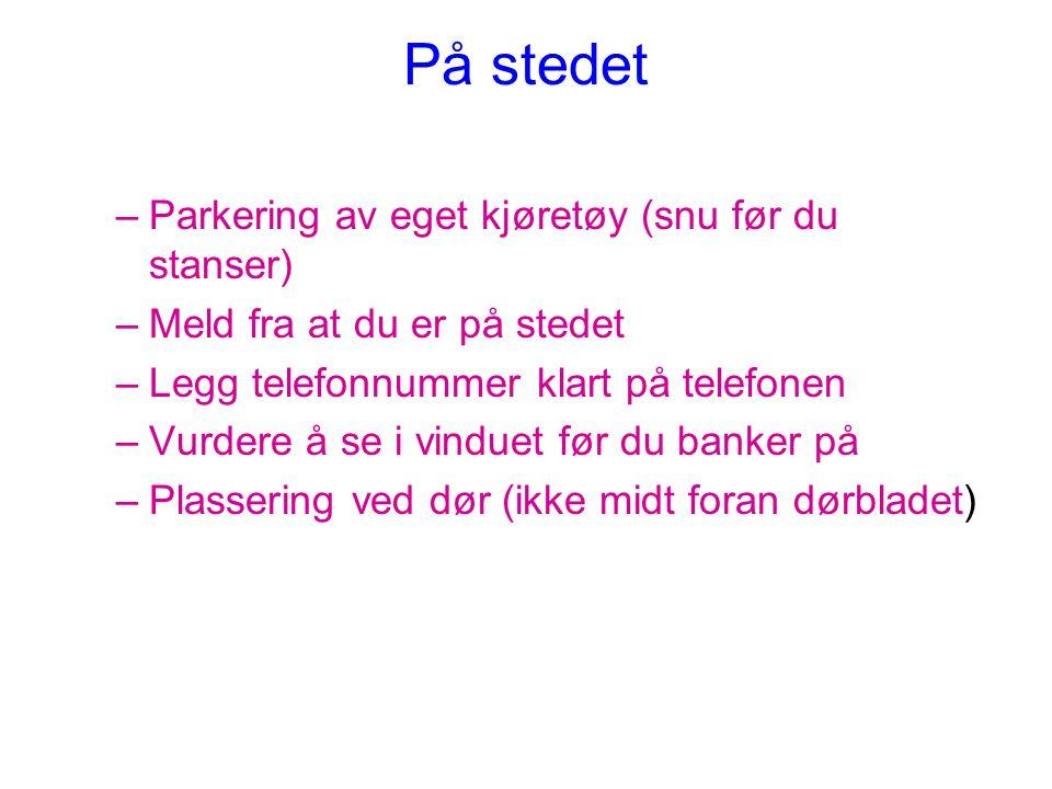 POLITIET PÅ SYKEBESØK •HER REISER DERE IKKE ALENE!!