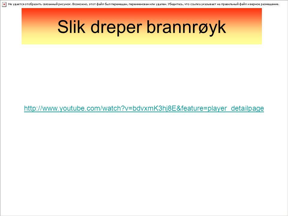 http://www.youtube.com/watch?v=bdvxmK3hj8E&feature=player_detailpage Slik dreper brannrøyk