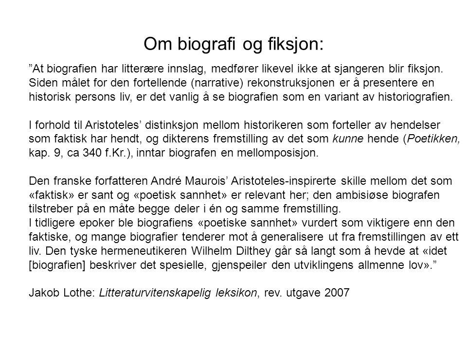 Biografisk oversikt •1846 Født i Bergen 22.august •1852 Skolegang •1863 Konfirmert.