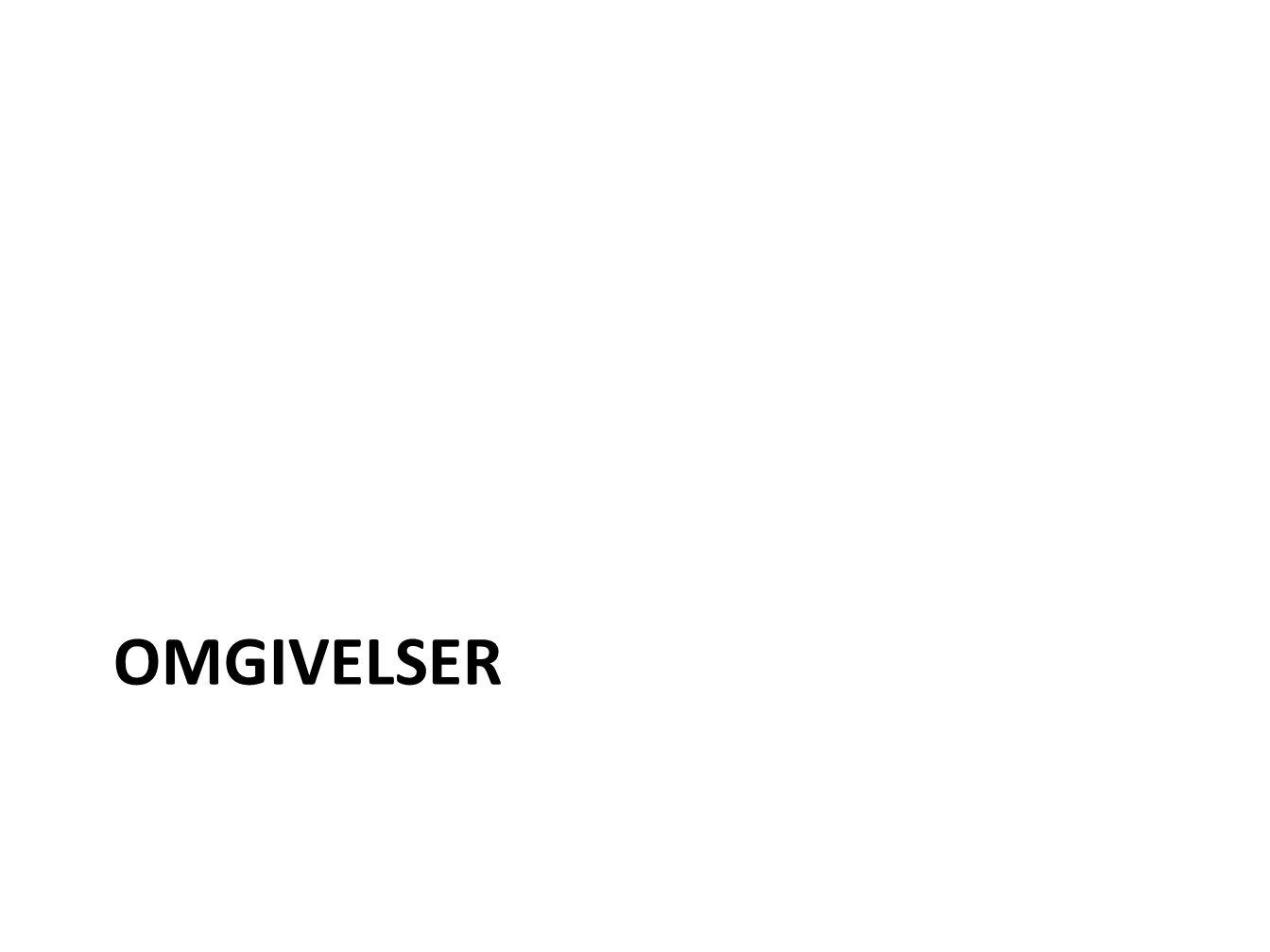 OMGIVELSER