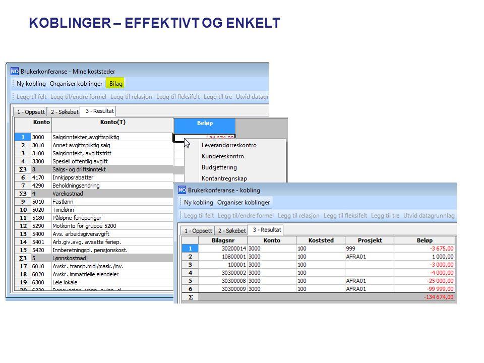 BROWSER MOT TABELL se tekstlig beskrivelse på begrepsverdier bruke relasjoner bruke trær legge til fleksifelt bruke utvid datagrunnlag bruke datakontroll Legg in «a» bak tabellen Tigjengelig funksjonalitet: •tekstlig beskrivelse på beg.verdier •bruke relasjoner •bruke trær •legge til fleksifelt •bruke utvid datagrunnlag •bruke datakontroll Obs: Fungerer ikke mot view