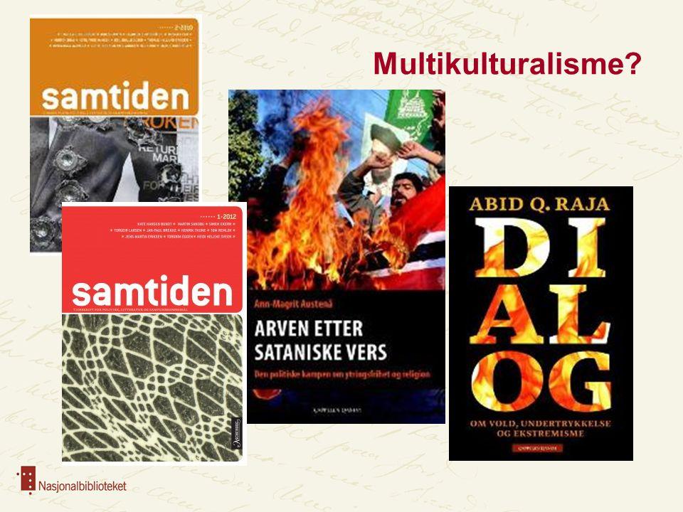 Multikulturalisme?