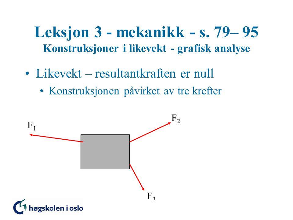 Leksjon 3 - mekanikk - s.