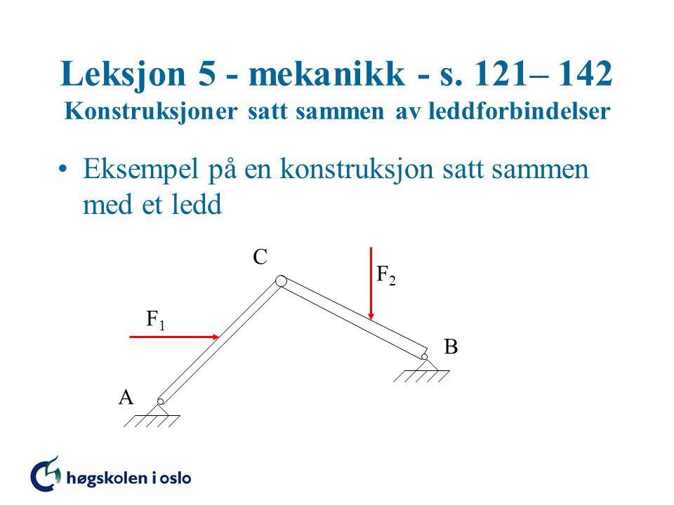 Leksjon 5 - mekanikk - s.