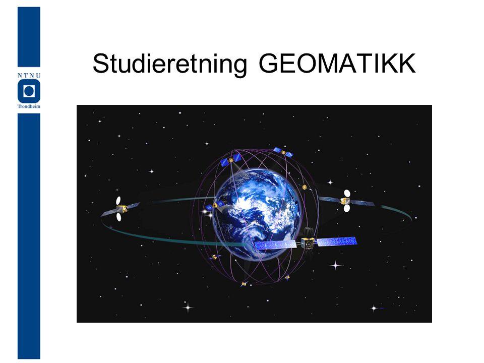 Studieretning GEOMATIKK