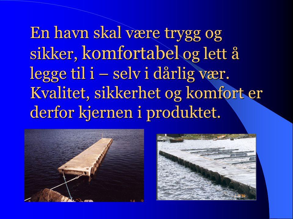 En havn skal være trygg og sikker, komfortabel og lett å legge til i – selv i dårlig vær.
