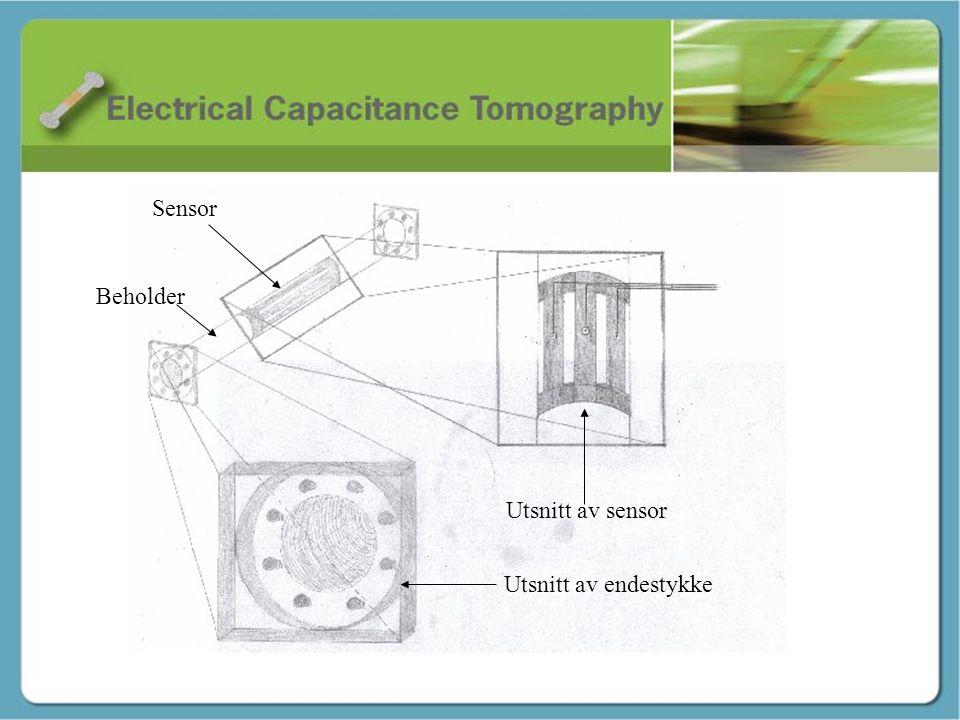 Skisse / konstruksjon – Geir tore Sensor Beholder Utsnitt av sensor Utsnitt av endestykke