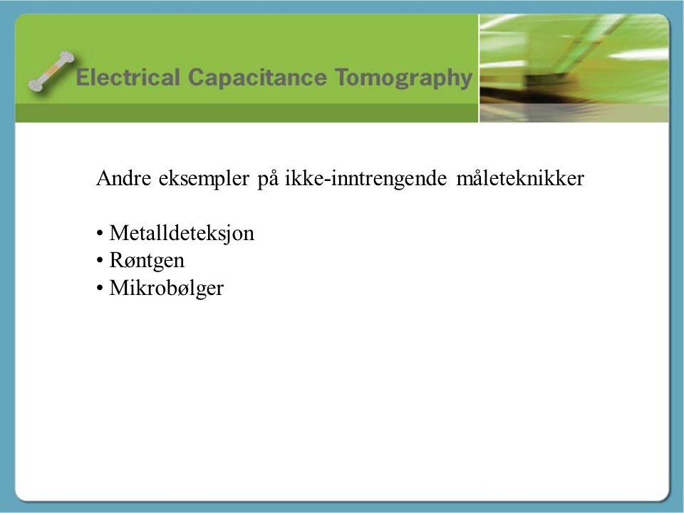 Avslutning – Tor André Andre eksempler på ikke-inntrengende måleteknikker • Metalldeteksjon • Røntgen • Mikrobølger