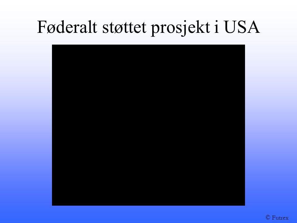 Føderalt støttet prosjekt i USA © Futrex