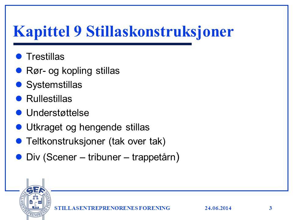 24.06.2014 STILLASENTREPRENØRENES FORENING4 Norsk standard - beregning l NS-EN 1990 Eurokode; Grunnlag for prosjektering.