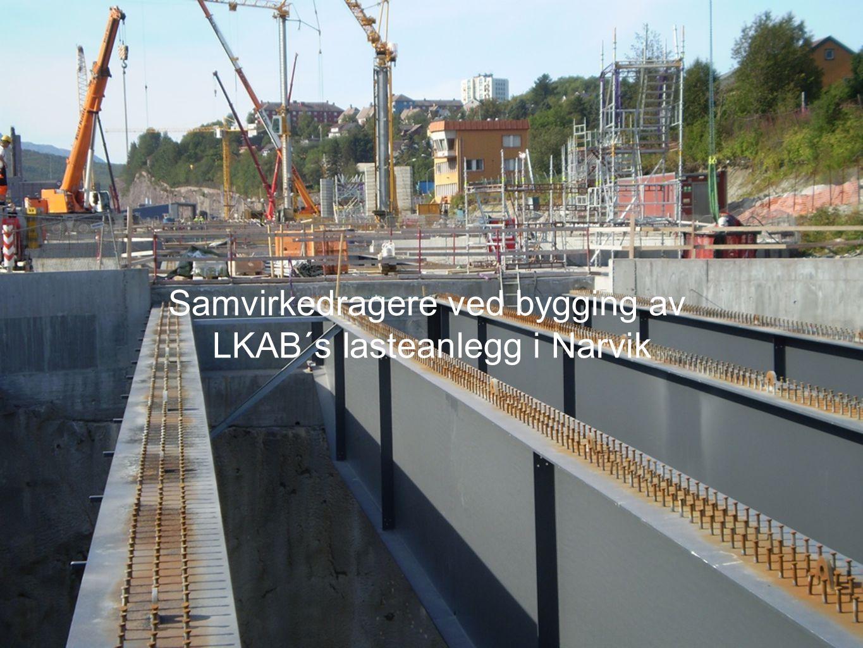 Samvirkedragere ved bygging av LKAB´s lasteanlegg i Narvik