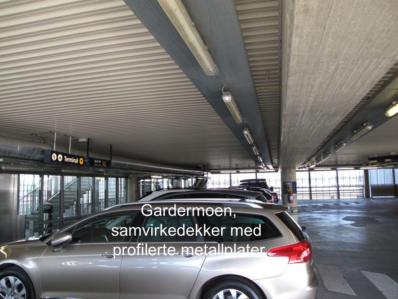 Avinor, Tromsø samvirkedekker med Pevaplater og etterspente betongdragere