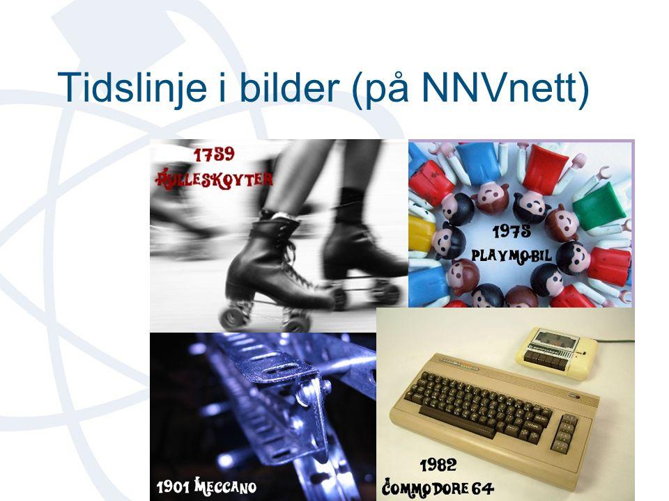 Tidslinje i bilder (på NNVnett)