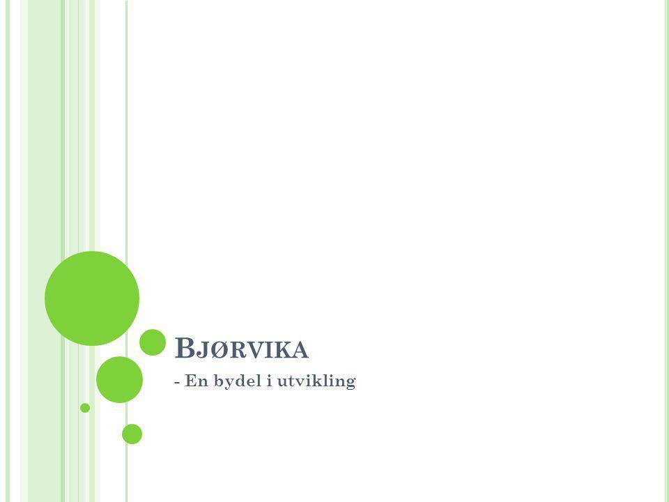 B JØRVIKA - En bydel i utvikling