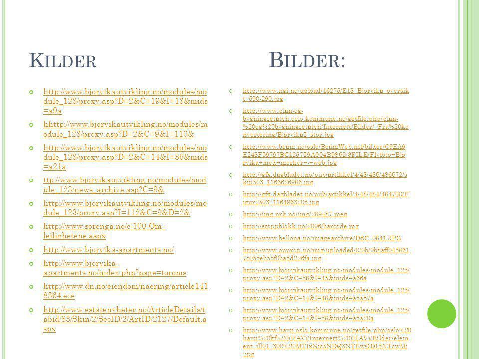 K ILDER B ILDER : http://www.bjorvikautvikling.no/modules/mo dule_123/proxy.asp?D=2&C=19&I=13&mids =a9a hhttp://www.bjorvikautvikling.no/modules/m odu