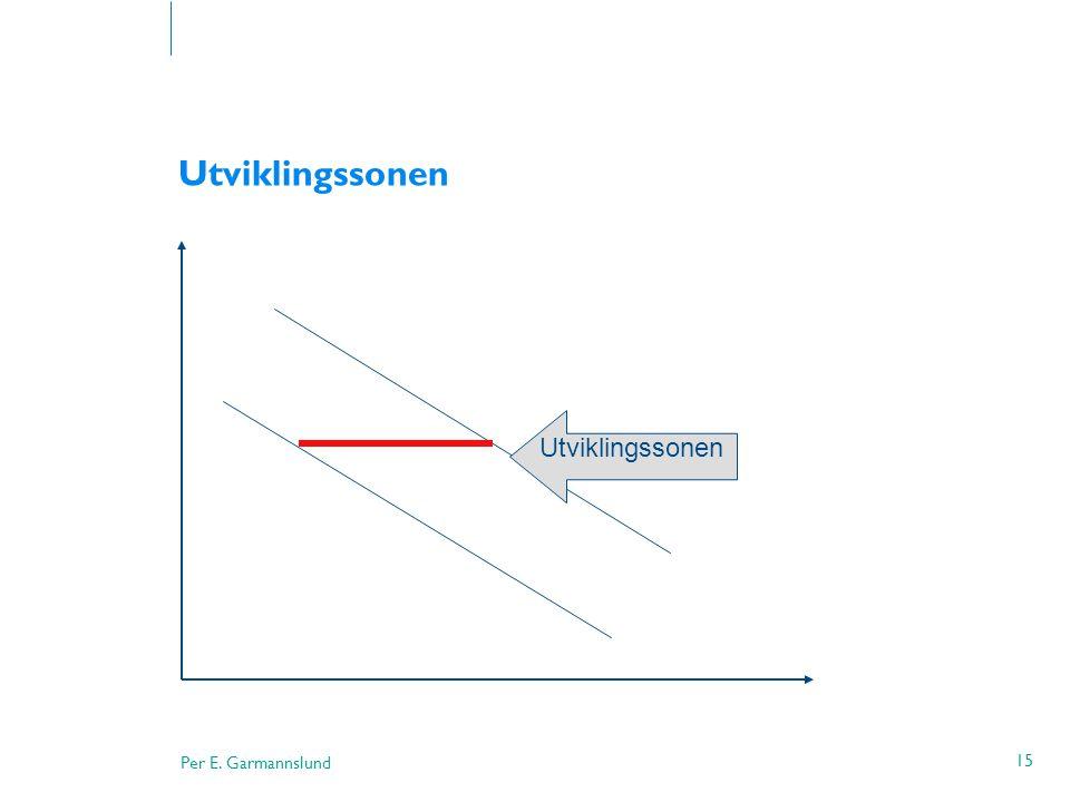Per E. Garmannslund 15 Utviklingssonen