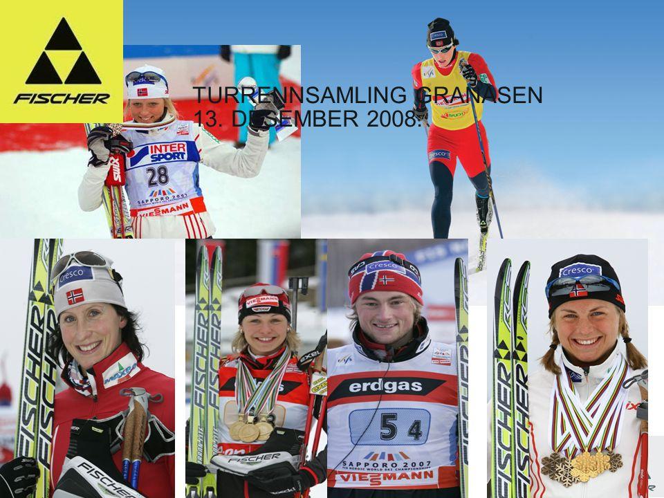 1 Line-up 08l09 // Nordic // Ski // Racing TURRENNSAMLING GRANÅSEN 13. DESEMBER 2008.