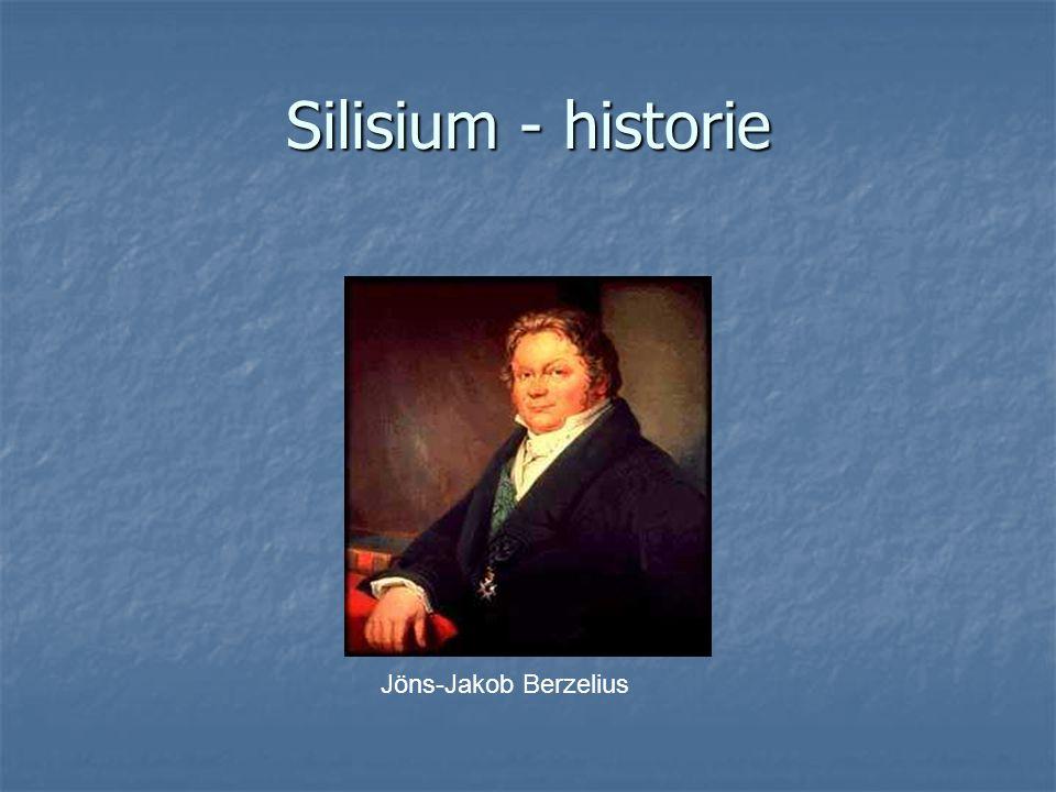Silisium - historie Jöns-Jakob Berzelius