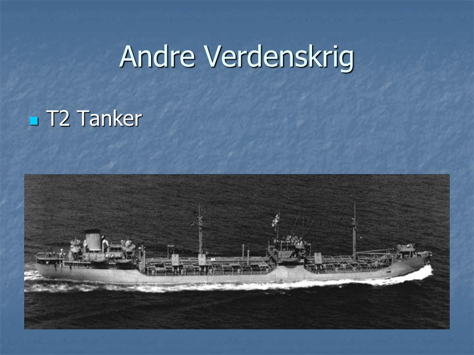 Andre Verdenskrig  T2 Tanker