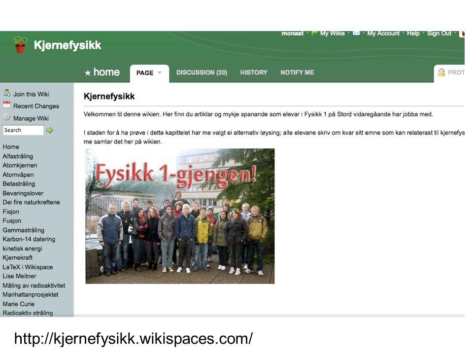 http://kjernefysikk.wikispaces.com/