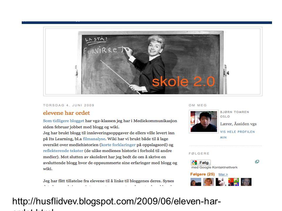http://husflidvev.blogspot.com/2009/06/eleven-har- ordet.html