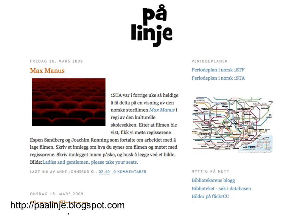 http://paalinje.blogspot.com /