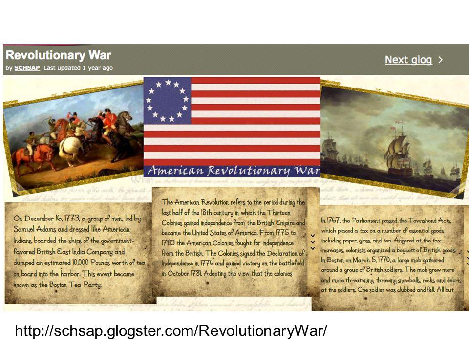 http://schsap.glogster.com/RevolutionaryWar/