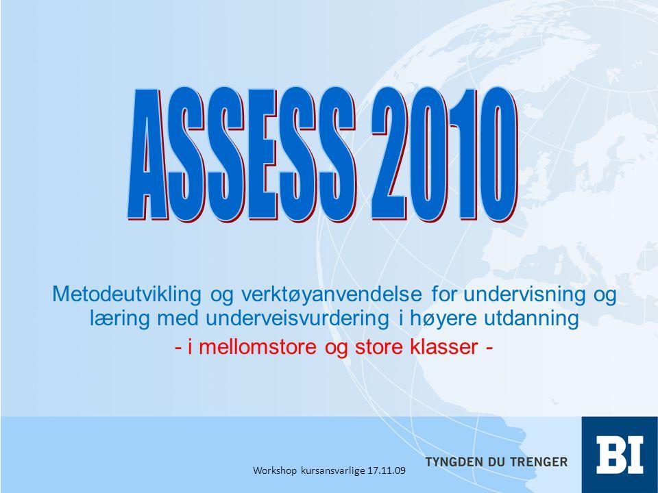 Aktivitet 1 Sjekk mot læringsmål og eksamen Sjekk mot øvrige kursaktiviteter Valg av første kursaktivitet 1.Hva skal denne bestå i.